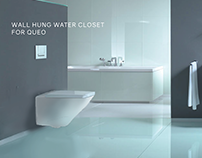 Sanitary ware range for Queo.