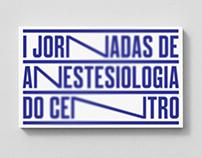 I Jornadas de Anestesiologia do Centro