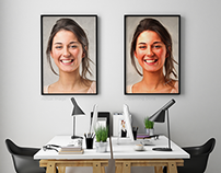 Oil Painting got canvased digitally