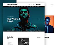 Open'er Website Redesign