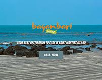 Web Design for Baganbari Beach Resort