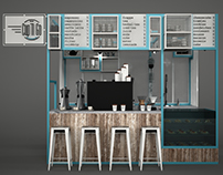 Cup'n Go, Coffee Kiosk, Istanbul, 2016