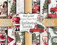 I Believe In Santa Paper