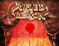 "Ruled by Reason - ""The Dawning of Dystopia"" Album Cover"