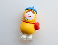yellow kong