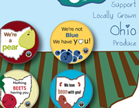Ohio Produce Support Button Pack