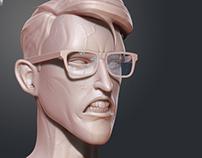Head Sketch 3D