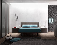 Bedroom rendering 2016