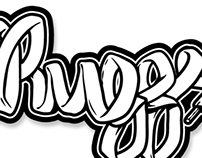 DJ Ruggs Logo Branding