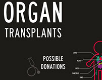 Organ Transplants Infographics