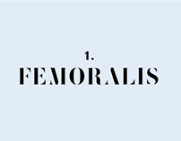 «Femoralis» Typeface