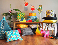B-Goods - Cushions & Lighting