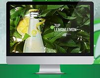 7UP brand showcase website