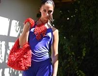 crochet mode creations in an italian garden