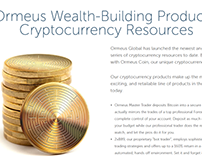 Ormeus Global: Helping to Understand Cryptocurrencies