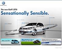Volswagen Golf 1.2 Launch - Digital & Social Media