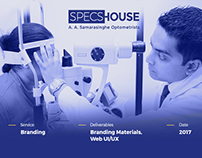 SpecsHouse Branding/ Web UI/UX