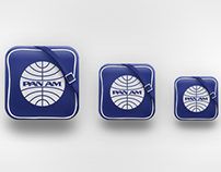 Pan Am iOs Icon