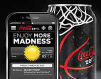 Coke Zero Enjoy More Madness Mobile Concierge