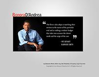 Bonora D'Andrea: Web design