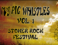 My Pig Whistles Poster
