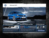 Volskwagen Golf R Launch - Digital x Social x Mobile