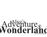 Alice In Wonderland Typography
