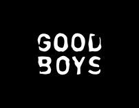 goodboys brand identity
