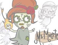 Character Design - 'Ms. Muerte'
