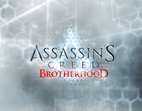 ASSASSIN'S CREED BROTHERHOOD Menu & HUD design