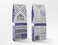 ZIPA Café - Identidad Gráfica