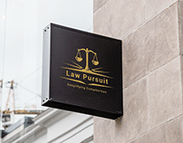 Logo Design For online Law Education YouTube Channel