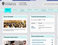 'Luminis' student portal