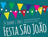 Poster São João 2016 - Comissão de Festas Trofa