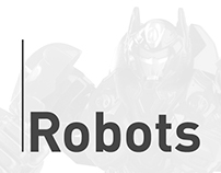 Robots - Landing page