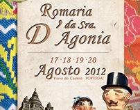 Concurso | Cartaz da Romaria da Senhora D' Agonia 2012