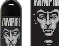 Vampire Merlot - Package Design