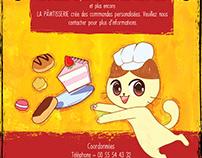 La PAWtisserie Poster