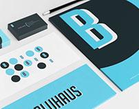 Bluhaus. Design firm identity