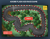Race Game - ui design
