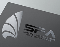 SAILING FEDERATION OF AZERBAIJAN Logo Design