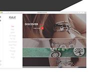Kidult - Product Website