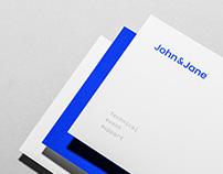 John & Jane - branding