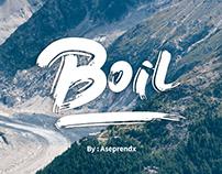 Boil Font