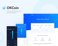 OKCoin-finance website and app