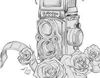 Rolleiflex Tattoo