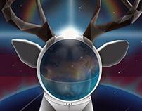 Astronaut Deer