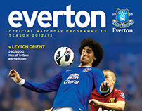 Everton Matchday Programme