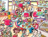 Revista Recreio - Crazy Colors