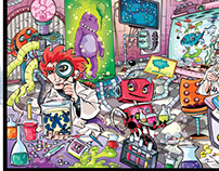 Revista Recreio - Mad Lab